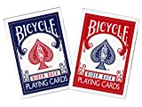 Bicycle Rider Back Index Playing Cards (COLORS MAY VARY- SINGLE PACK)
