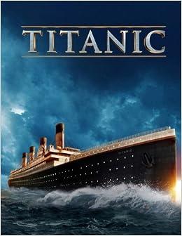 Titanic: coloring book, activity book: De Cameron: 9781981232383 ...