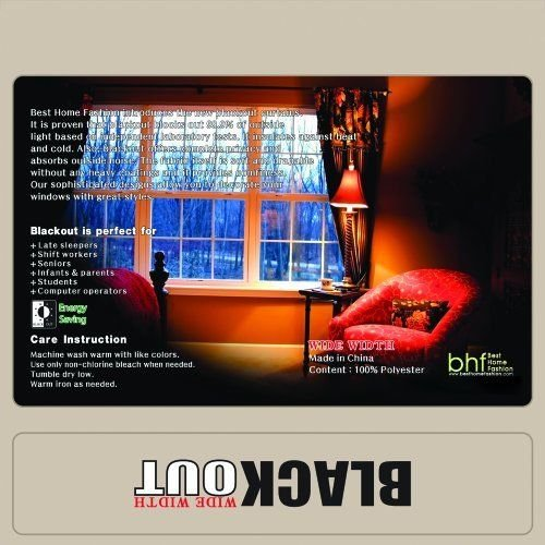 Panel 84l (Beige Wide Width Grommet Top Thermal Blackout Curtain 100W X 84L 1 Panel BWW ;supply_by_sincityessentials)
