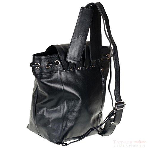 Gräschen , Sac à main porté au dos pour femme noir noir