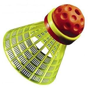 Speedminton Speeder Tube Match - Volante de bádminton ( medio, 5 piezas ) , color multicolor, talla n/a