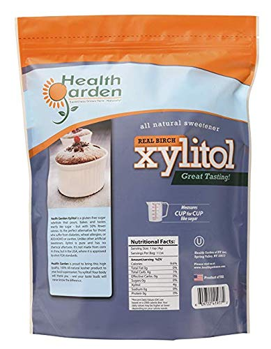 Health Garden Birch Xylitol Sugar Free Sweetener, All Natural Non GMO (Not from Corn (10 Lb x 4) by HEALTH GARDEN (Image #2)