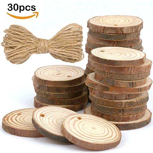 Log Ornament (30pcs 1.9