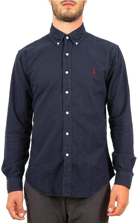 Polo Ralph Lauren Camicia Oxford Slim-Fit Uomo Mod. 710723610: Amazon.es: Ropa y accesorios