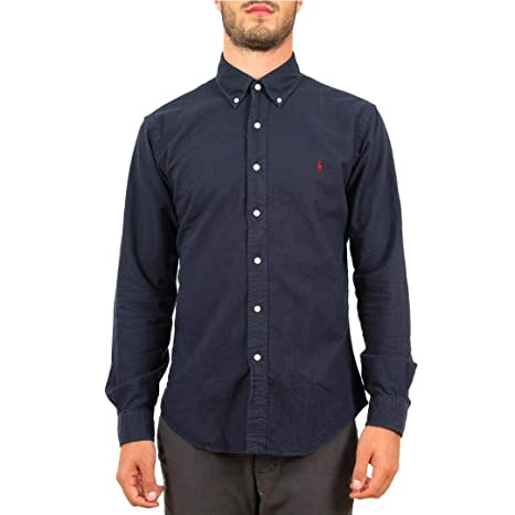 Polo Ralph Lauren Camicia Oxford Slim-Fit Uomo Mod. 710723610 S ...