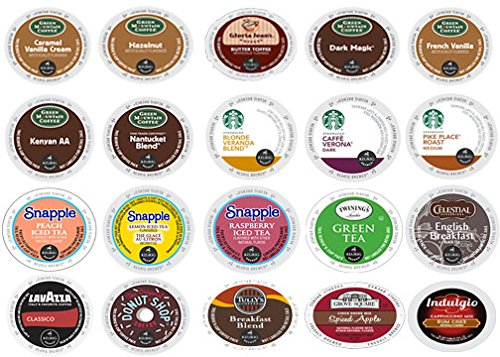 (40 Mix Variety K-Cups Coffee 2.0 Compatible)