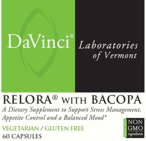 DaVinci Labs Relora With Bacopa, 60 Capsules by DaVinci Laboratories of Vermont