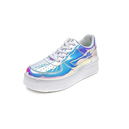 34e7f4a5d7414 Amazon.com: Hy Women's Casual Shoes, Leather Spring/Fall Comfort ...