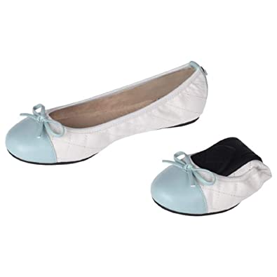 56936d077d5 Butterfly Twists Womens Olivia Packable Ballet Flat (6