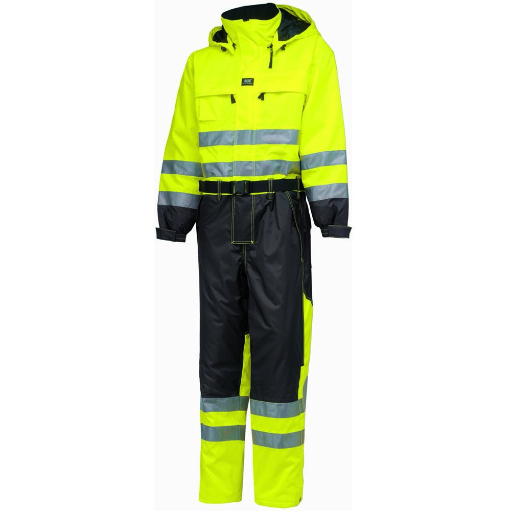 Helly Hansen 71676_369-C64 Ludvika Hi-Vis Suit, C64, Yellow/Charcoal by Helly Hansen (Image #1)