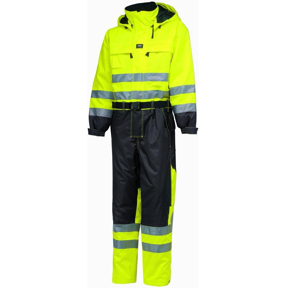 Helly Hansen 71676_369-C64 Ludvika Hi-Vis Suit, C64, Yellow/Charcoal