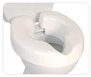 toilet seat manufacturers uk. NRS Healthcare F25145 Novelle Portable Clip On Raised Toilet Seat  Eligible for VAT relief