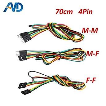 Laliva Impresora 3D - Cables de puente 5 piezas/lote 70 cm 4 ...