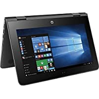 Premium Hp X360 11.6 2-in-1 Convertible HD Touchscreen High Performance Laptop, Intel Dual-Core Processor, 4GB RAM, 32GB SSD, WiFi, Webcam, HDMI, Bluetooth, Win 10- Free One Year Microsoft office 365