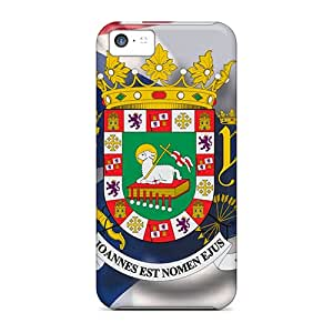 Fashionable Style Cases Covers Skin For Iphone 5c- Seal Of Puerto Rico
