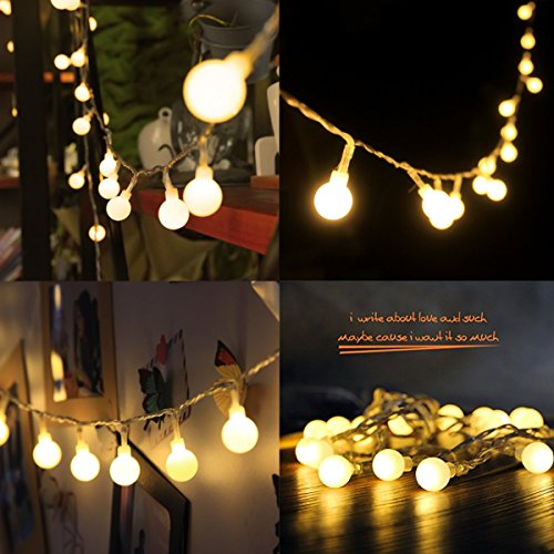 Battery Ball Styled String Lights - Plain