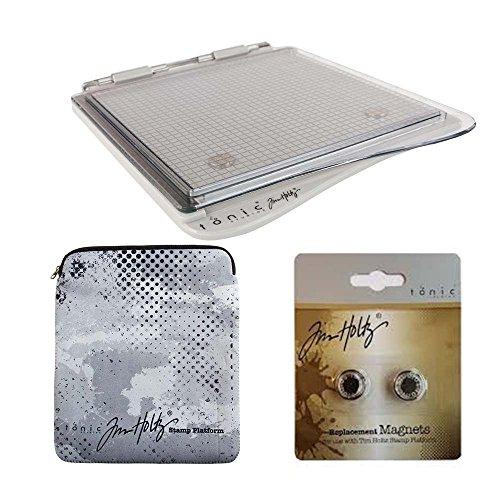 Complete Bundle - COMPLETE BUNDLE: Tim Holtz STAMP PLATFORM + Sleeve + Magnets 1707e+1709e+1710e