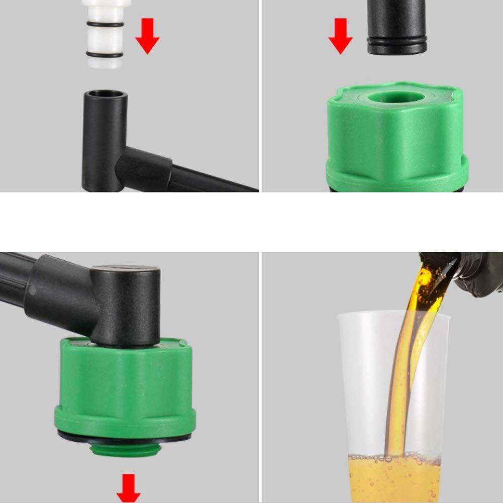 Oil Filling Funnel-10Pcs Oil Funnel Adaptor Filling Set and Swivel Offset Extension Tube Car Engine Oil Tool