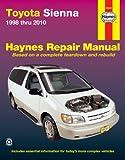 Haynes Manuals 92090 Toyota Sienna,98-10