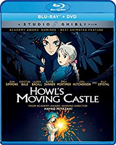 Howl's Moving Castle (Bluray/DVD Combo) [Blu-ray] from GKIDS presents a Studio Ghibli film