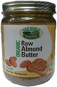 New World Foods Almond Butter, Raw Organic 500g