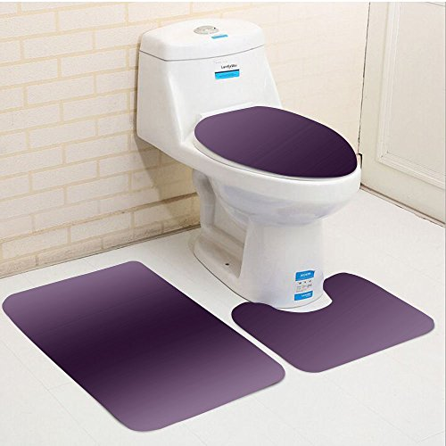 Keshia Dwete three-piece toilet seat pad customOmbre Hollywood Glam Show Inspired Color Ombre Design Digital Printed (Mason Outdoor Area Rug)