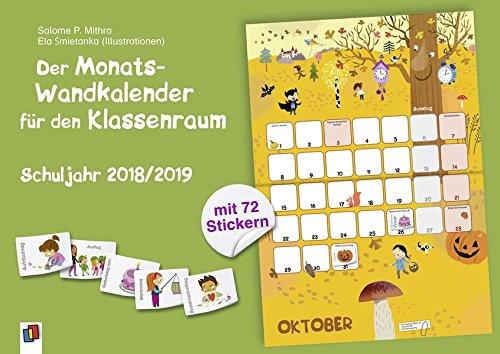 der-monats-wandkalender-fr-den-klassenraum-schuljahr-2018-2019-mit-72-stickern