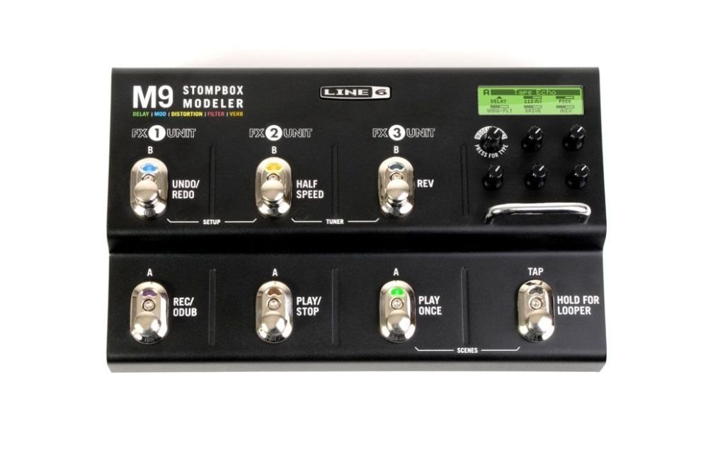 Line 6 ストンプボックスモデラー Stompbox Modeler M9 B002U1O8CS