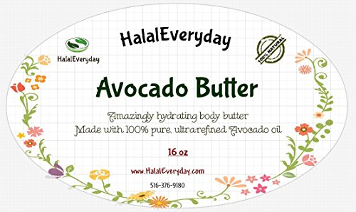 Avocado Butter - 16 Oz By SAAQIN (Avocado Body Butter)