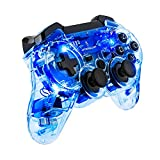 Cheap PDP Afterglow Wireless Controller for PS3, Blue