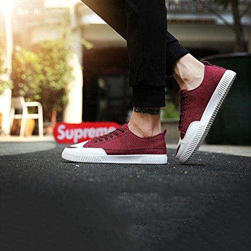 35 Uomo Da 5000 Dimensioni cn39 Red Sneaker Muma uk6 Antiscivolo colore Eu39 ZxUnAx