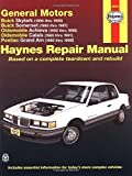 img - for GM: Skylark, Somerset, Achieva, Calais, Grand Am, '85' thru 98 (Haynes Manuals) by Richard Lindwall (2001-05-07) book / textbook / text book