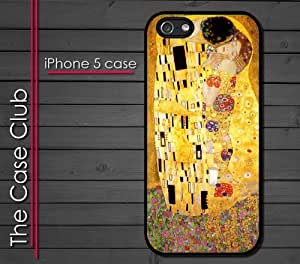 iPhone 5C (New Color Model) Rubber Silicone Case - The Kiss by Gustav Klimt Art Beautiful