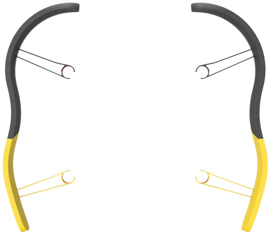 BEBOP DRONE - EPP Bumpers Yellow Parrot PF070104