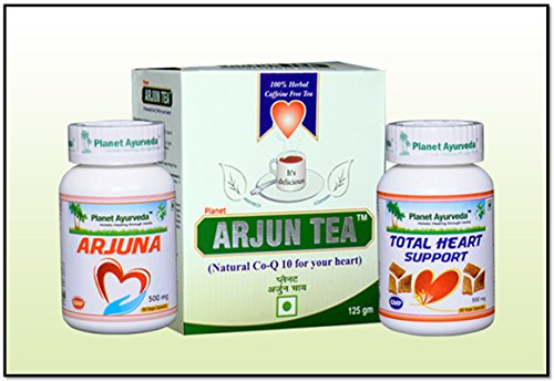 Herbal Heart Pack - Heart Care Pack - Ayurvedic Remedy by Planet Ayurveda (in USA)