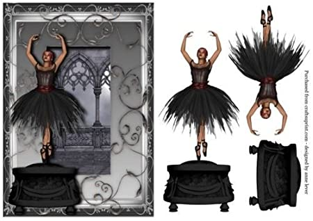 Gothic Ballerina Music Box By Anne Lever