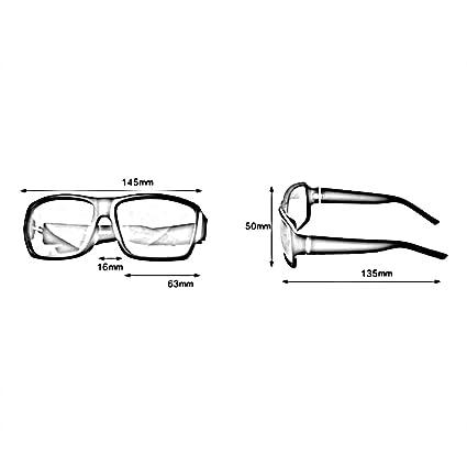 HONEY Lässige Herren-Sonnenbrille - Polarisierte Fahrbrille - Voller UV400-Schutz - Schwarz gefrosteter Rahmen 616BbjTQ9