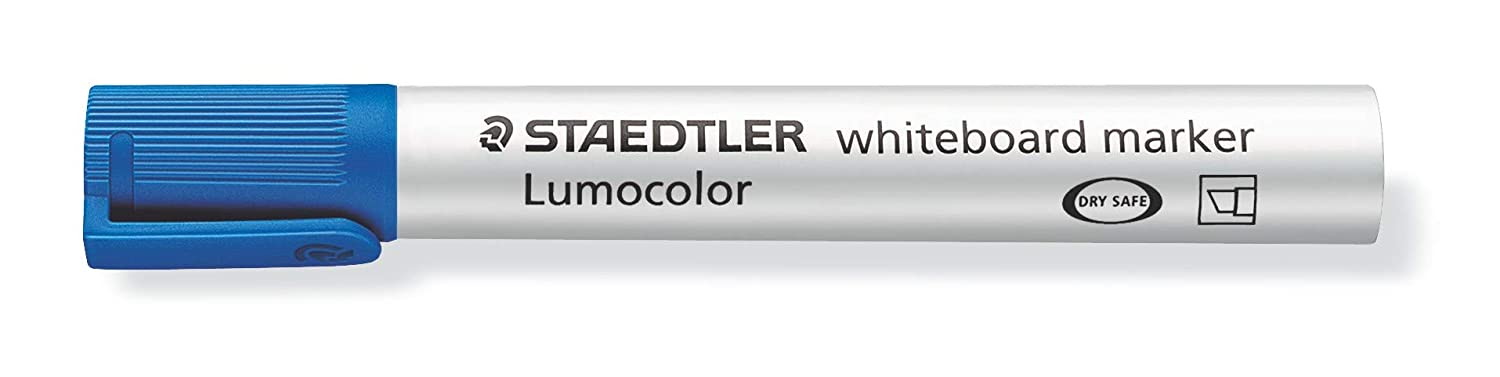 Multicolor STAEDTLER 351WP6 Lumocolour Whiteboard Marker with Bullet Tip Pack of 6