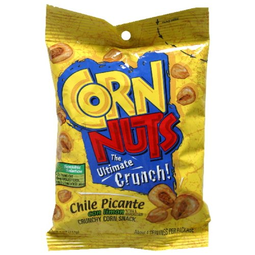 Corn Nuts Chile Picante, 4-Ounce (Pack of 12) by Cornnuts