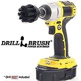 2 Inch Diameter Ultra Stiff Nylon Scrub Brush Used for Heavy Duty Brick and Stone Cleaning