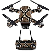 Skin for DJI Spark Mini Drone Combo - Rattler| MightySkins Protective, Durable, and Unique Vinyl Decal wrap cover | Easy To Apply, Remove, and Change Styles | Made in the USA
