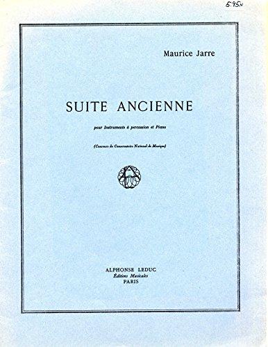 Suite Ancienne pour Instruments a percussion et - Pour Percussion