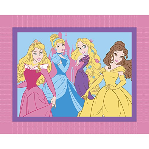 Springs Creative Products Group Disney I Am A Princess Micro Fleece No Sew Throw Kit by Springs Creative Products Group