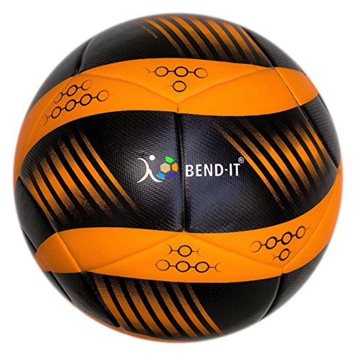 Bend-It Soccer, Curl-It Pro Amber, Size 5, Official Match Ball