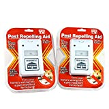 2 Riddex Plus Pest Repellent for Rodents, Roaches, Ants, Spiders As Seen on TV