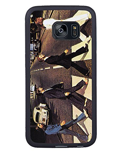 Price comparison product image S7 Edge TPU Phone Case, The Beatles 1 Popular Gifts Case Cover for Samsung Galaxy S7 Edge (Black)
