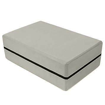 YAOEGE Yoga Block, EVA High Density Comfortable Foam Yoga Blocks Exercise Fitness Bricks, Eco-Friendly and Lightweight