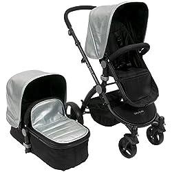 Babyroues Letour Lux ll Classique Stroller, Classico Silver