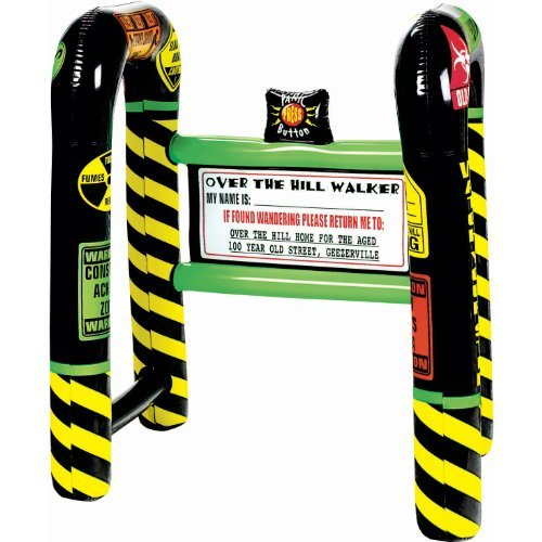 Over The Hill Inflatable Walker, Party Favor