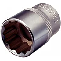 KS Tools 911.1587 Bi Hex Socket, 1/2-Inch, 32mm by KS Tools